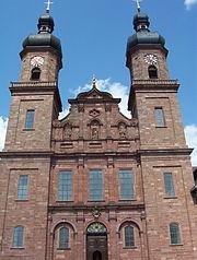 Kloster St. Peter auf dem Schwarzwald-Kirche-aussen