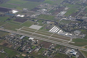 San Martin Airport - View from northeast