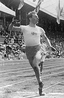 Knut Lindberg Swedish athlete