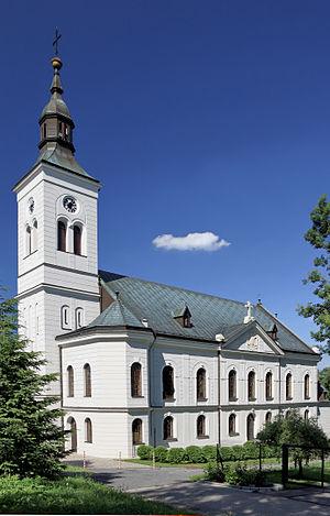 Jaworze, Silesian Voivodeship - Lutheran church in Jaworze