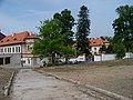 Koloděje, zámek, od Panského dvora (04).jpg