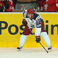 Konstantin Korneev - Switzerland vs. Russia, 8th April 2011 (1).jpg