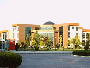 Konya-Selcuk-University-library