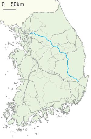 Jungang Line - Image: Korail Jungang Line