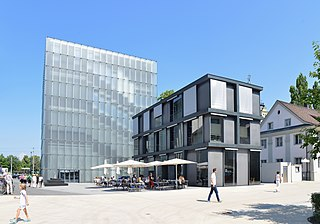 Kunsthaus Bregenz contemporary art museum in Austria