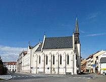 Kostel sv. Rodiny (ČB) 01.jpg