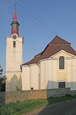 Cvikov - Saint Elizabeth Church