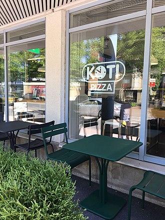 Kotipizza - Image: Kotipizzan terassi