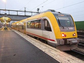 Bombardier Itino - Image: Krösatågen Y32