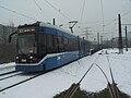 Krakow, tram NGT6-2 n°2049, January 2009.jpg