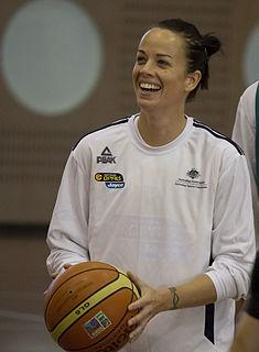 Kristen Veal Female Australian basketball player