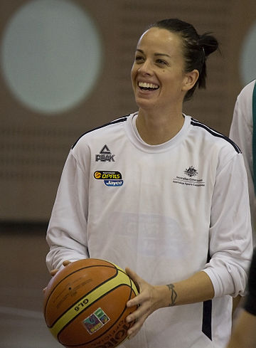 Kristen Veal at a practice on Wednesday. Image: Bidgee.