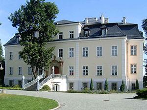 Helmuth James Graf von Moltke - The von Moltke main house at Kreisau