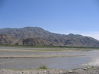 river in Afghanistan and Pakistan