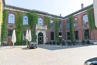 Kunsthal Charlottenborg - Kunsthall Charlottenborg seen from the courtyard