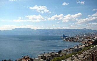 Croatian Littoral - Kvarner Gulf shore near Rijeka