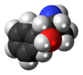 L-Norpseudoephedrine molecule spacefill.png