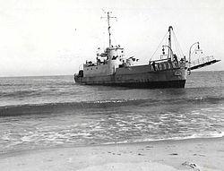 """אח""""י רמת רחל במשימת איסוף שלל מחוף סיני בעקבות מבצע קדש."""