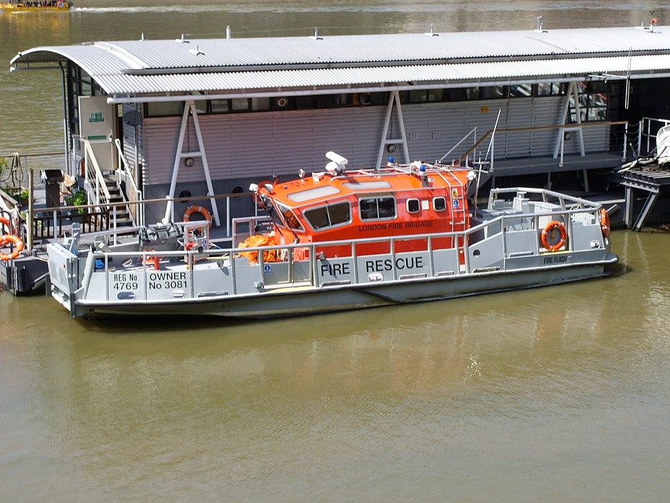 LFB fireboat