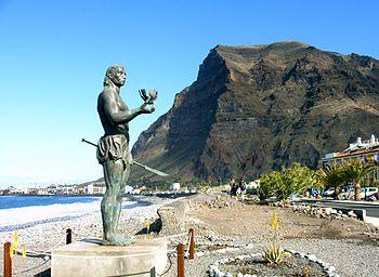 La Gomera Valle Gran Rey Statue