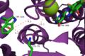Labeled active site of 2aqj PrnA halogenase.png