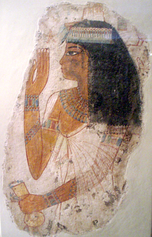 Painting of Lady Tjepu - Image: Lady Tjepu Tomb Painting