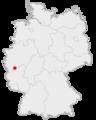 Lage der Stadt Meckenheim in Deutschland.png