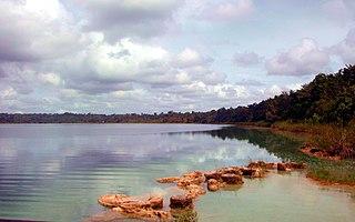 Lachuá Lake national park in Guatemala
