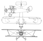Laird Whippoorwill 3-view Aero Digest June 1928.png