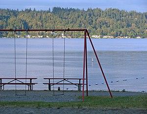 Lake Sammamish State Park - Lake Sammamish swing