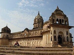 Orchha - Lakshmi Temple, Orchha.