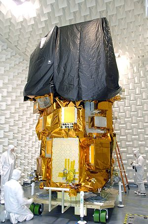 Landsat 8 - Landsat 8 during ground testing