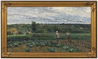 Landscape with Cabbage Patch, Concarneau