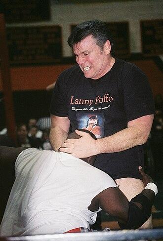 Lanny Poffo - Poffo against Koko B. Ware.