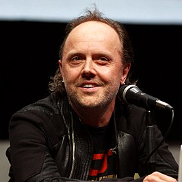 Lars Ulrich op San Diego Comic-Con International in 2013