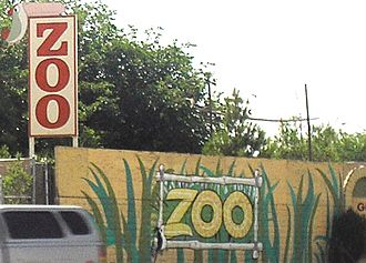Southern Nevada Zoological-Botanical Park - Park Exterior and sign
