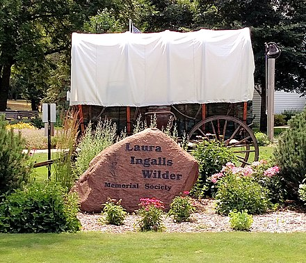 Laura Ingalls Wilder Memorial Society - De Smet, SD Laura ingalls wilder memorial society museum grounds.jpg