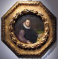 Lavinia fontana, ritratto di gentiluomo, olio su rame, diam. 16 cm, collez. privata.JPG