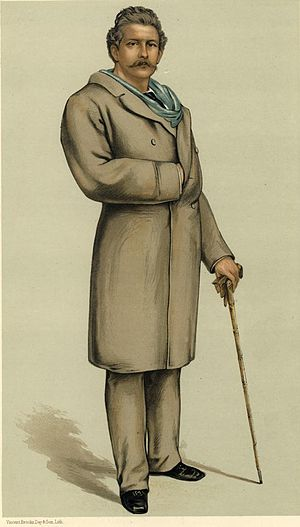 The Boat Race 1865 - Charles Bennett Lawes rowed at stroke for Cambridge.