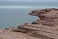 Layered Sedimentary Rock Nouadhibou Mauritania.jpg