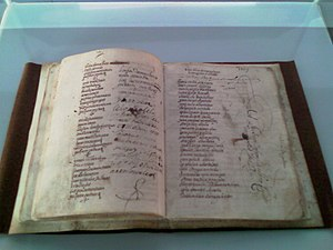 Culture of Basque Country - Lazarraga's pastoral novel and set of poems (1567-1602)