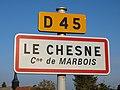 Le Chesne-FR-27-panneau d'agglomération-03.jpg