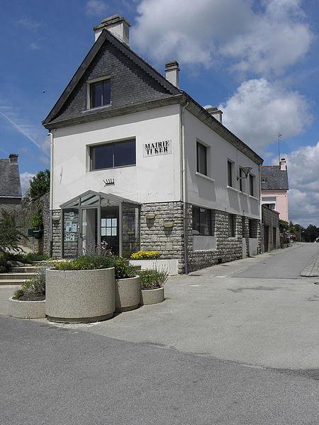 Mairie de Le Croisty (56).