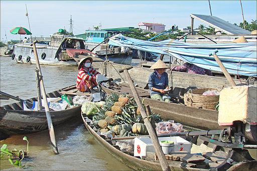 Le marché flottant (Cai Rang, Vietnam) (6642690827)
