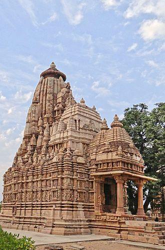Parshvanatha temple, Khajuraho - Parshvanatha temple