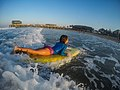 Learning to surf with Ocean Adventures, Durban beach front. KwaZulu Natal, South Africa (20486871066).jpg