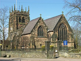 St Edward the Confessors Church, Leek Church in Staffordshire, England