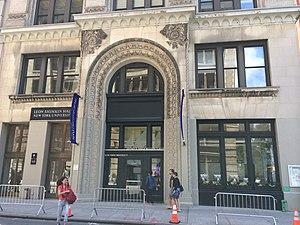 Leon Shimkin - Leon Shimkin Hall at New York University