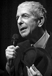 Image result for photos of leonard cohen