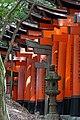 Les Torii du sanctuaire shintô Fushimi Inari (Kyoto, Japon) (29128838478).jpg